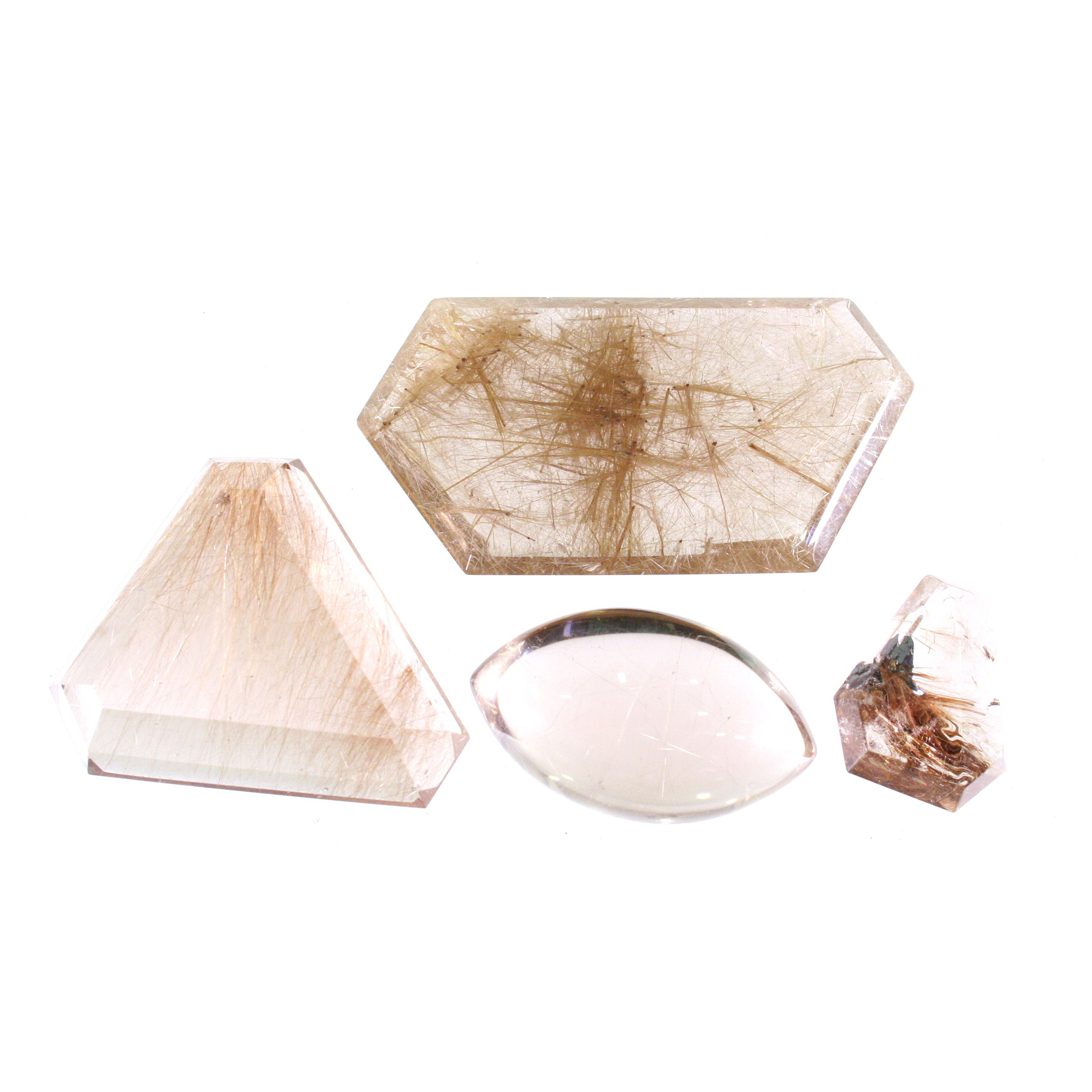 Faceted Rutile Shapes
