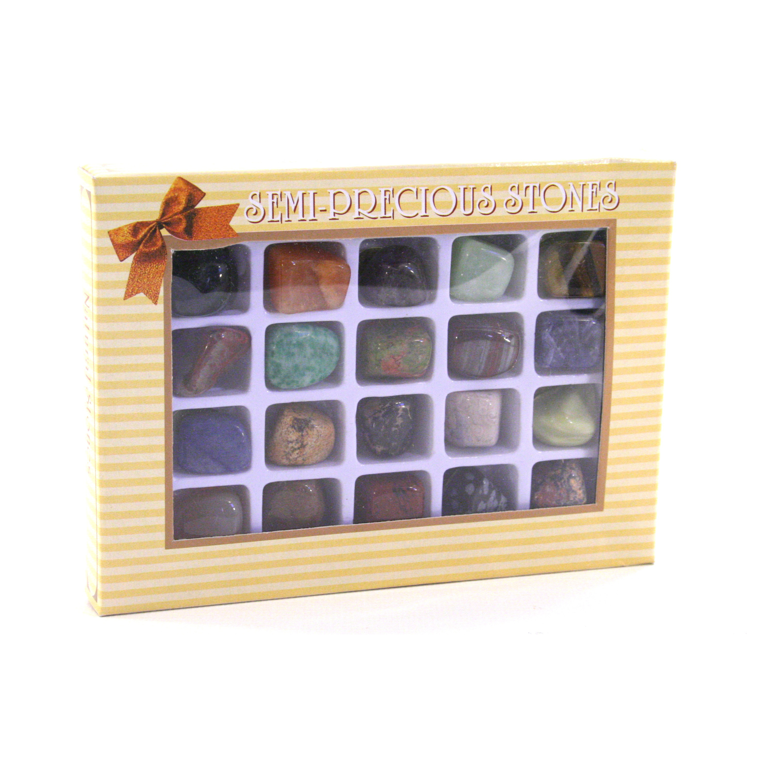 Packaged Stone Gift Set Boxes